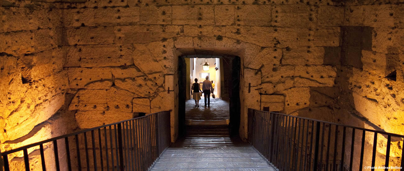 Castel Sant'Angelo interno Roma