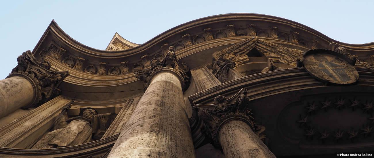 Chiesa San Carlino alle quattro fontane Roma