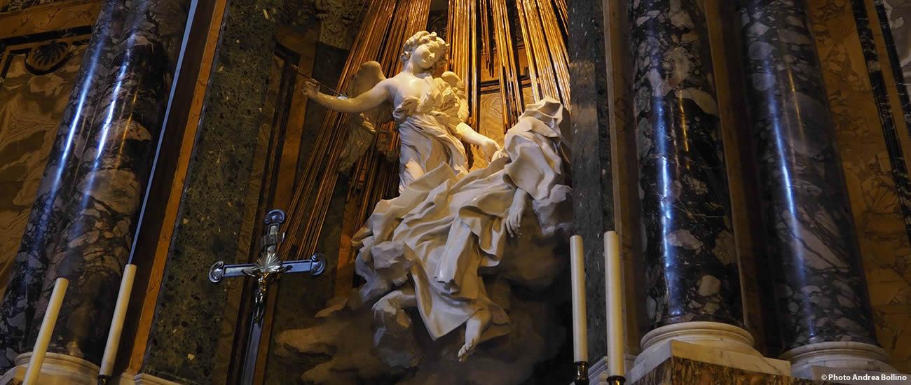 Estasi di Santa Teresa d'Avila Bernini Roma