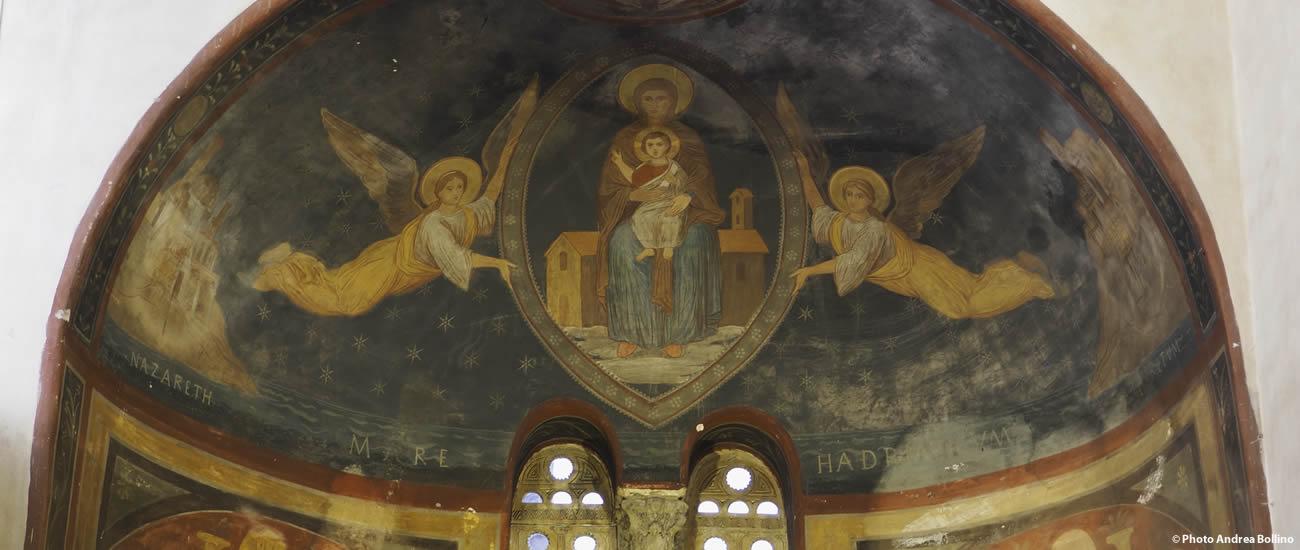 Chiesa Santa Maria in Cosmedin abside Roma