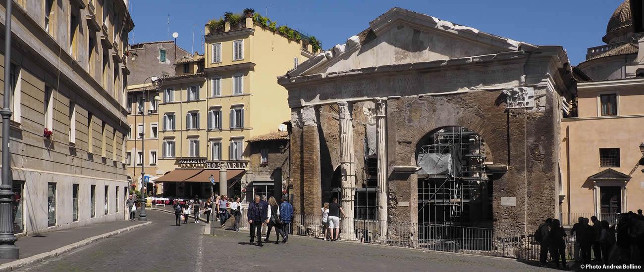 Ghetto Ebraico Portico d'Ottavia Roma