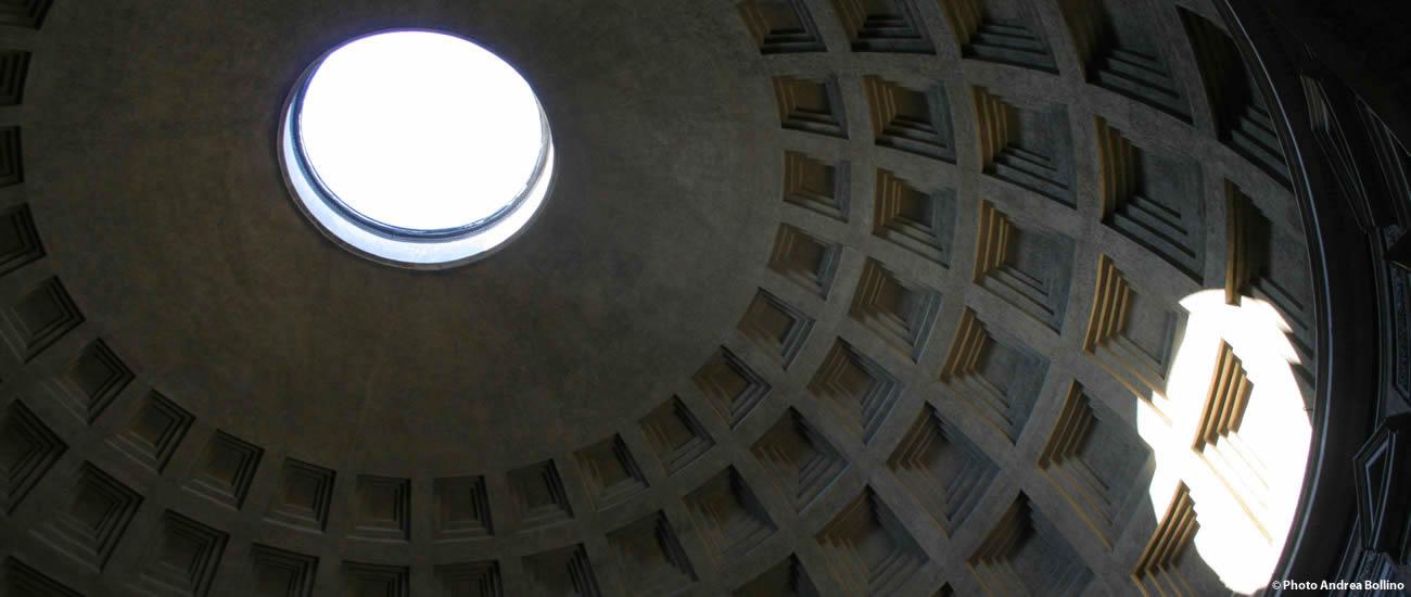 Pantheon interno cupola Roma