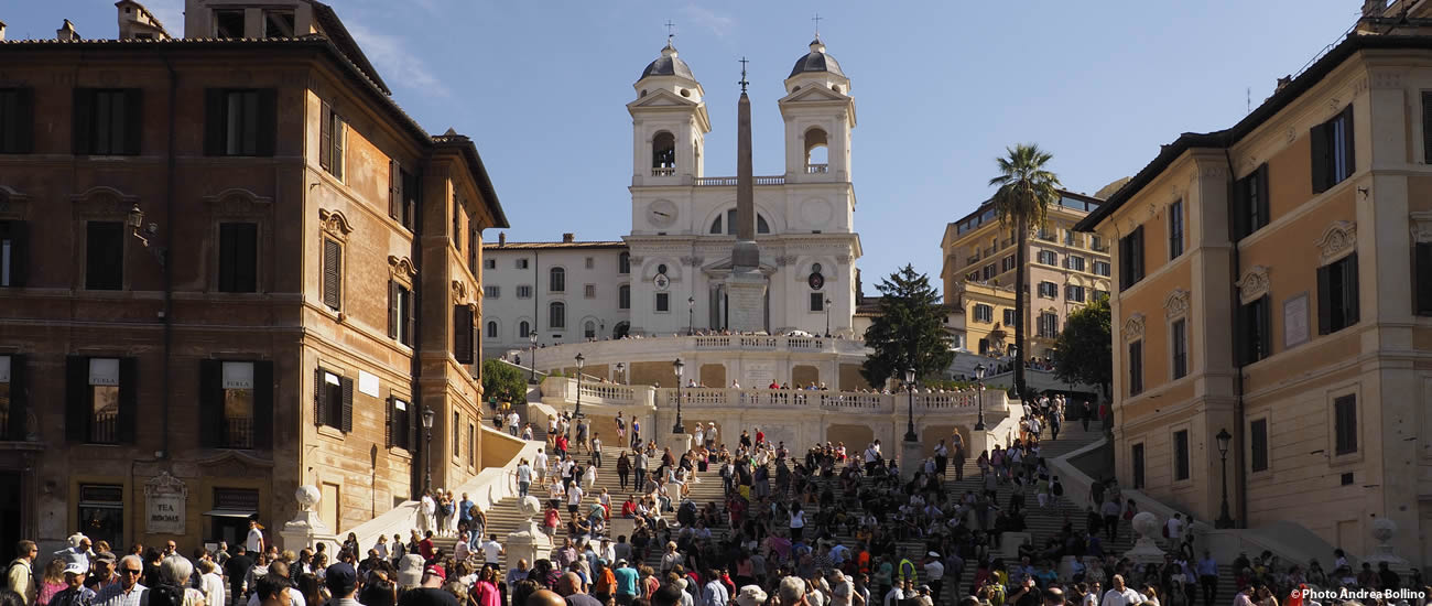 Piazza di Spagna Trinità dei Monti Roma