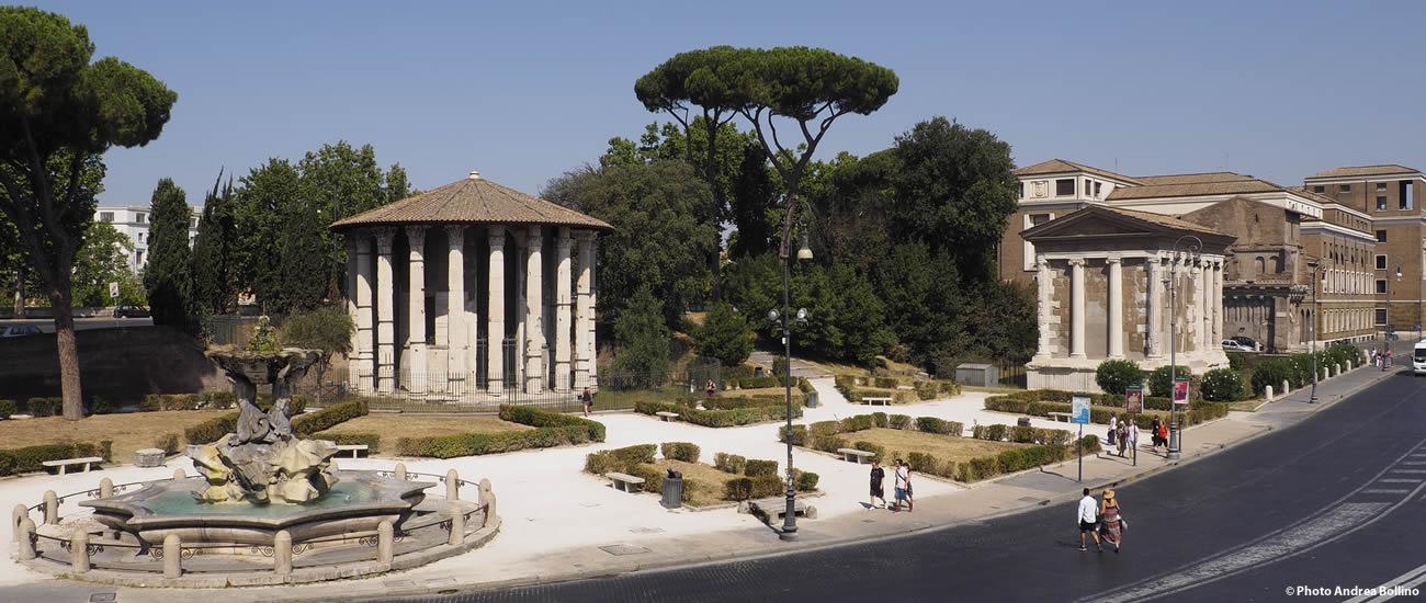 Tempio di Portuno e Tempio di Ercole Vincitore Roma