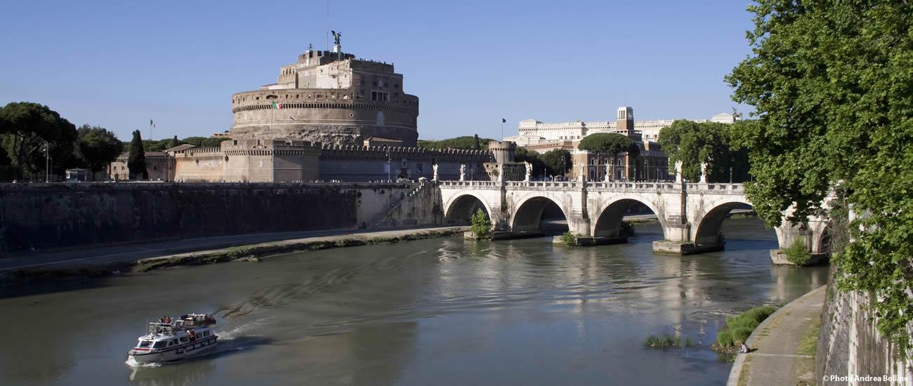 Castel Sant'Angelo Tevere Roma